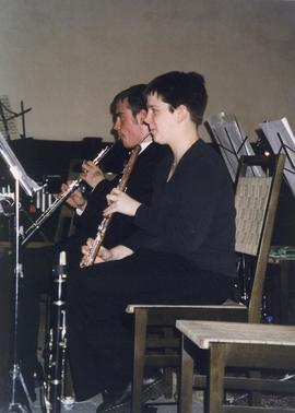 Oboe players, University Symphony Orchestra Germany tour 2000