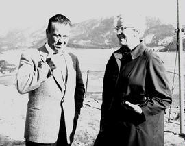 Ulrik Schjölberg and Dorothy Malmin, Choir of the West 1963 Tour