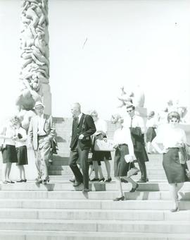 Choir of the West 1963 Tour sightseeing