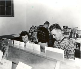Students in Xavier Library