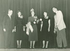 Homecoming queen and court, 1948