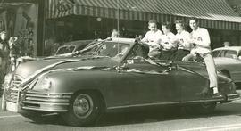 Homecoming parade, 1949