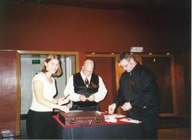 Ticket takers, Christmas Concert 2001