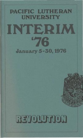 1976 Interim Catalog