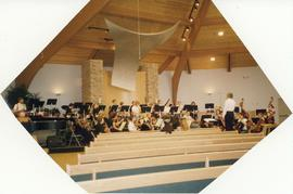 Rehearsal, University Symphony Orchestra tour 2004