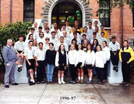 Campus Safety officers group photo, 1996