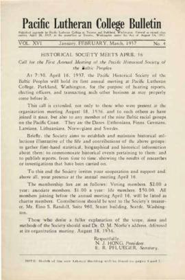 1937 January-March Bulletin