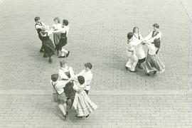 May Festival dancers in Red Square