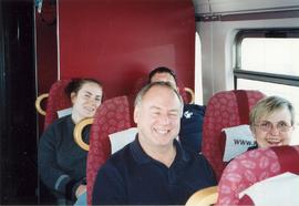 Tour bus, Choir of the West Norway and Sweden Tour 2001