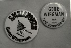 Wiegman campaign buttons